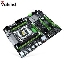 hot deal buy vakind x79t pc desktops motherboard ddr3 lga 2011 usb3.0 sata3 cpu computer 4 ch motherboards support m.2 e5-2680v2 ecc memory
