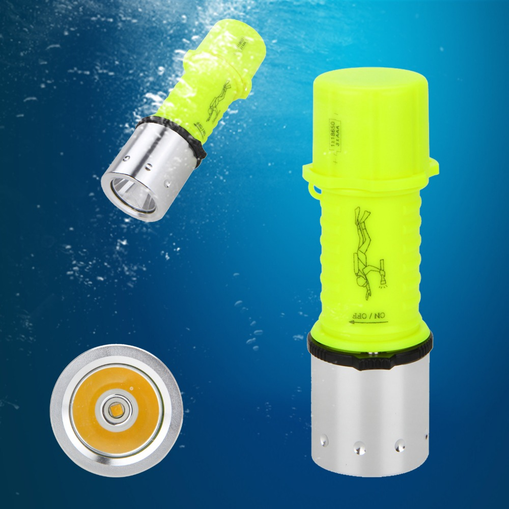 Underwater Diving Flashlight Torch Professional LED Torch Lantern Diving Light Waterproof Portable LED Lamp professional torch