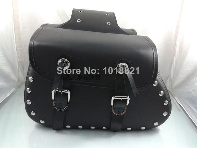 Free shipping motorcycle cavalry earth eagle king knight knights equipped motorcycle side bag satchel bag saddle bag