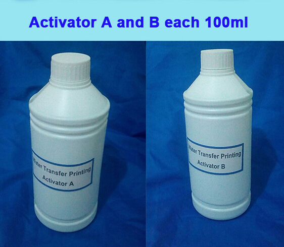US $25 42 18% OFF|Activator A and B each 100ml Hydrographics Film Activator  For Water Transfer Hydrographic Activator Water Transfer Printing-in