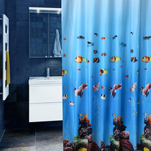 The bathroom shower curtain Environmental toilet door Shower curtains Waterproof