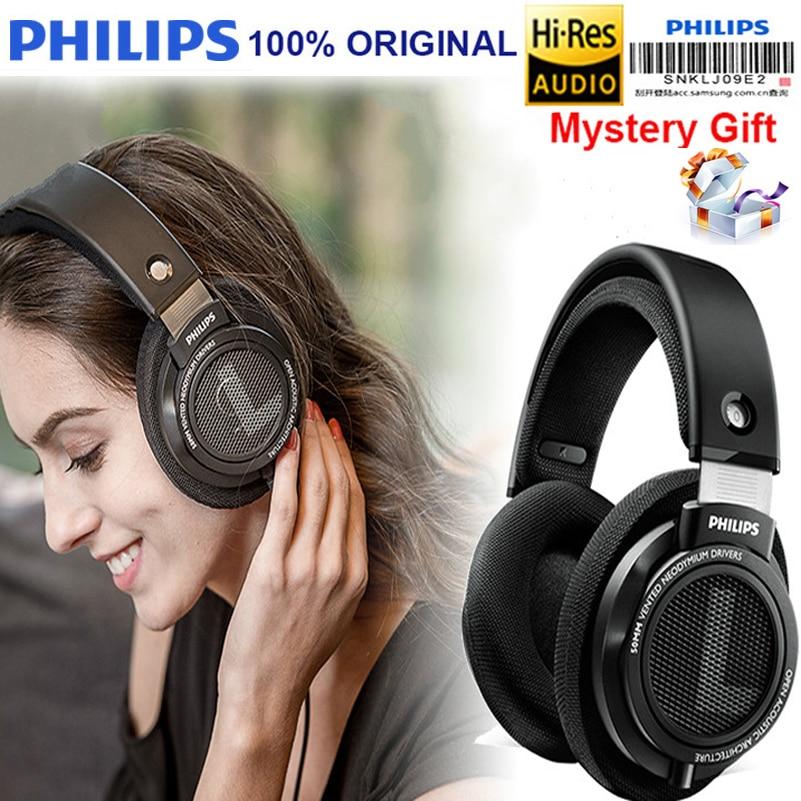 Originele Philips Oortelefoon SHP9500 Hoofdtelefoon HIFI met 3 m Lange Draad ruisonderdrukking headset voor huawei xiaomi S8 S9 MP3-in Hoofdtelefoon/Headset van Consumentenelektronica op  Groep 1