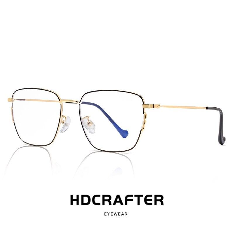 Anti Blue Ray Computer Glasses Transparent Eyeglass Frame for Men Women Spectacle Clear Oculos De Grau Feminino Fashion Big Size