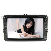8 Inch HD Digital Touch Screen Car DVD Player Car Radio PC Stereo Head GPS Navigation