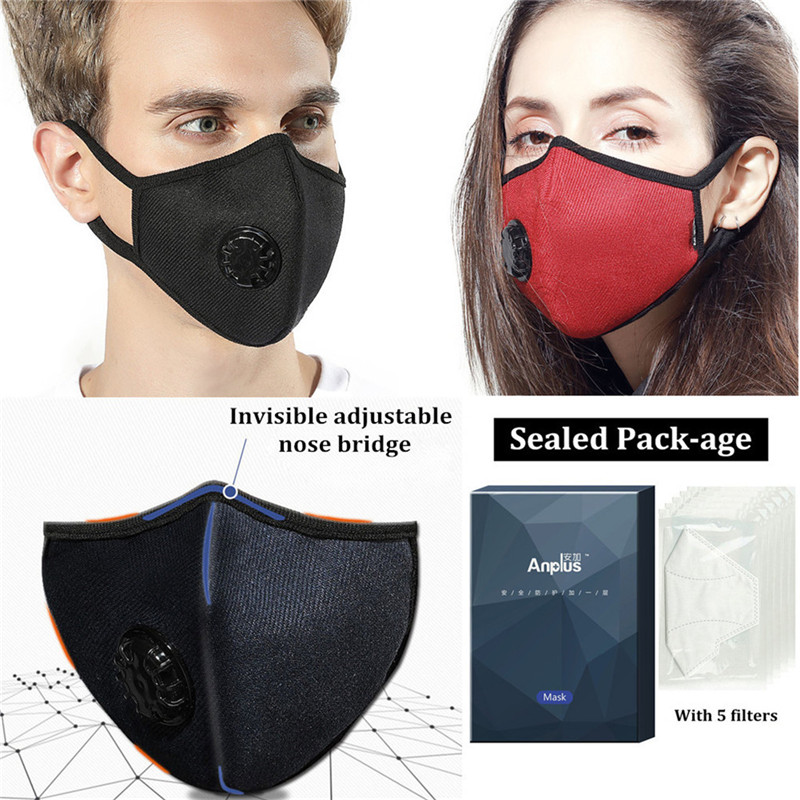 Respirator Washable With Anti N99 Mask Pollution Grade Cotton