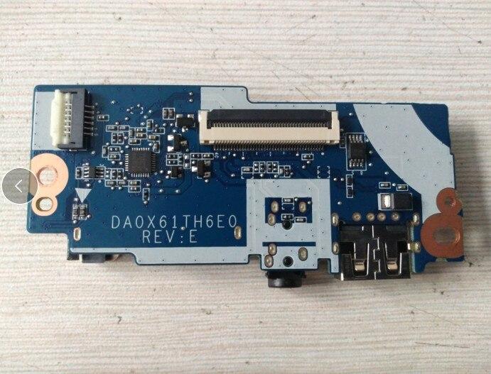 HP 440 455 450 470 G2 USB Audio Headphone I//O Board Ribbon Flex Cable LS-B183P