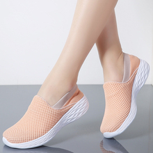 MIUBU 2019 Spring Women Sneakers Breathable Mesh Shoes Woman Ballet Slip On Flats Loafers Ladies Shoes Creepers Zapatos mujer