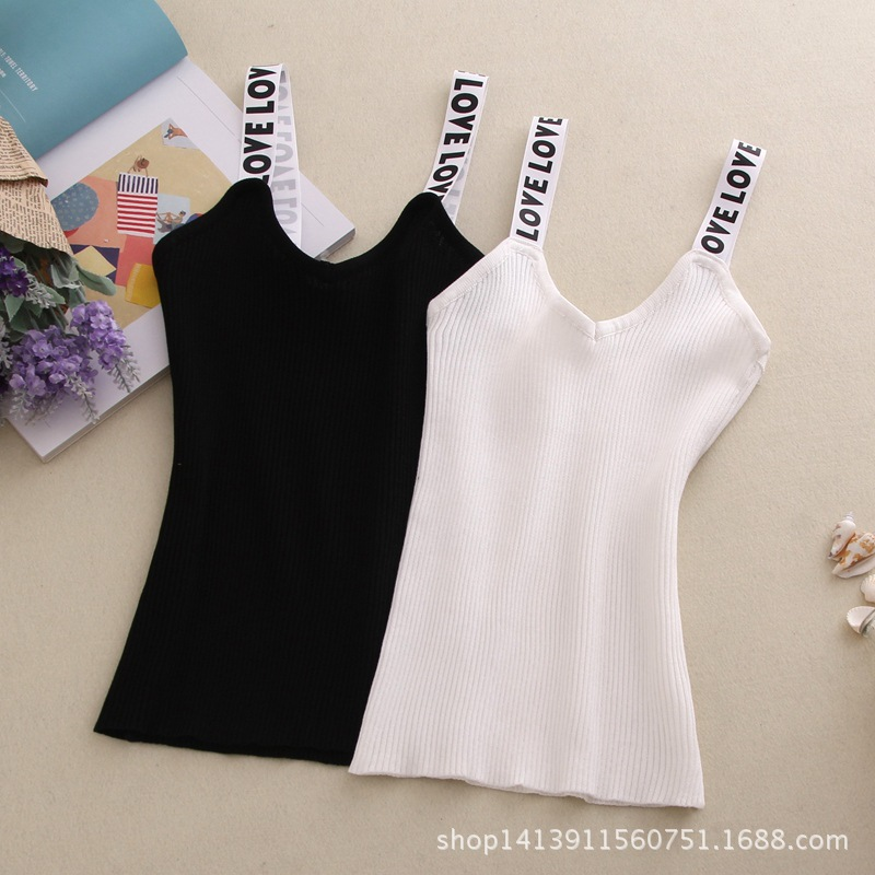 Printed Letter New Fashion Casual   Tank     Top   Cropped Camisole Dames Kleding Off The Shoulder Crop   Tops   For Women 2018