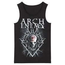 Bloodhoof Arch Enemy Hard Metal Deathcore Rock Hard Metal Mannen Top Zwart Tank Tops Aziatische Grootte