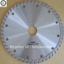 Buy table saw blade and get free shipping on aliexpress 150mm cold press turbo 6diamond saw blade diamond blade angle grinder table saw power greentooth Images