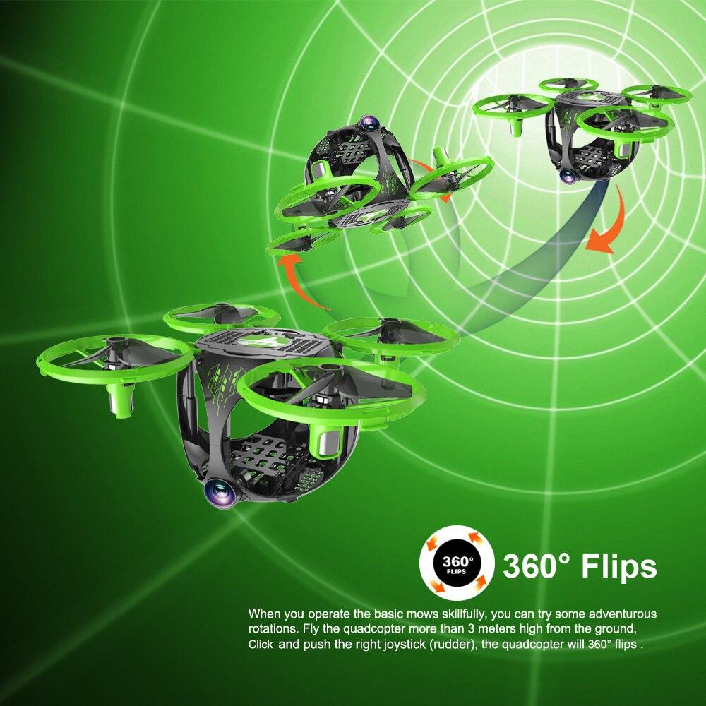 FQ26 WiFi FPV Mini Drone Quadrocopter with Camera 0.3MP Altitude Hold G-sensor Foldable Dron Quadrupter APP Phone Control RTF (7)