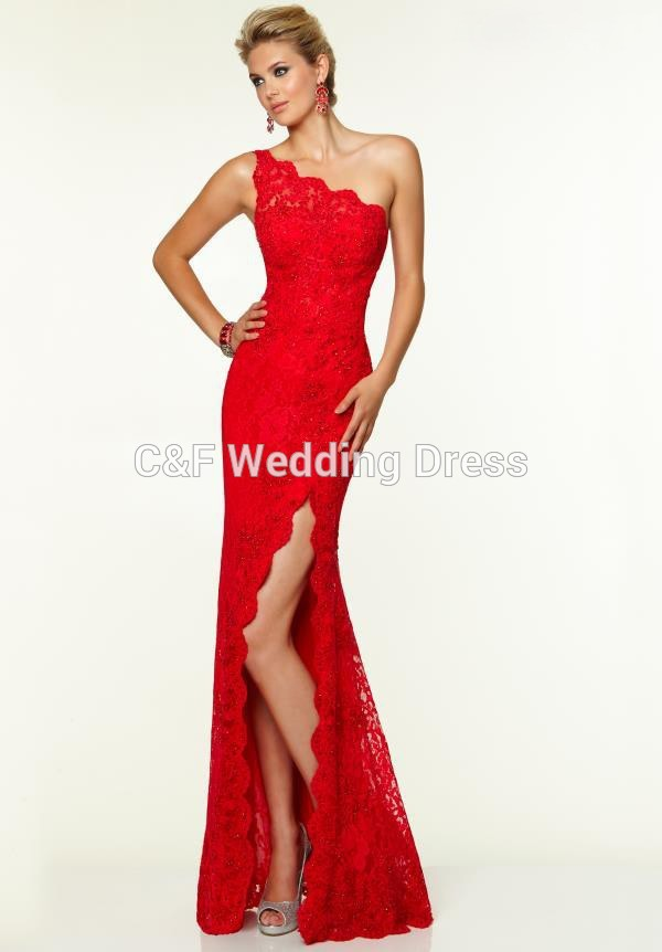 High Neck Two Piece Prom Dresses/ Sweep Trian Jersey Jessica Rabbit ...