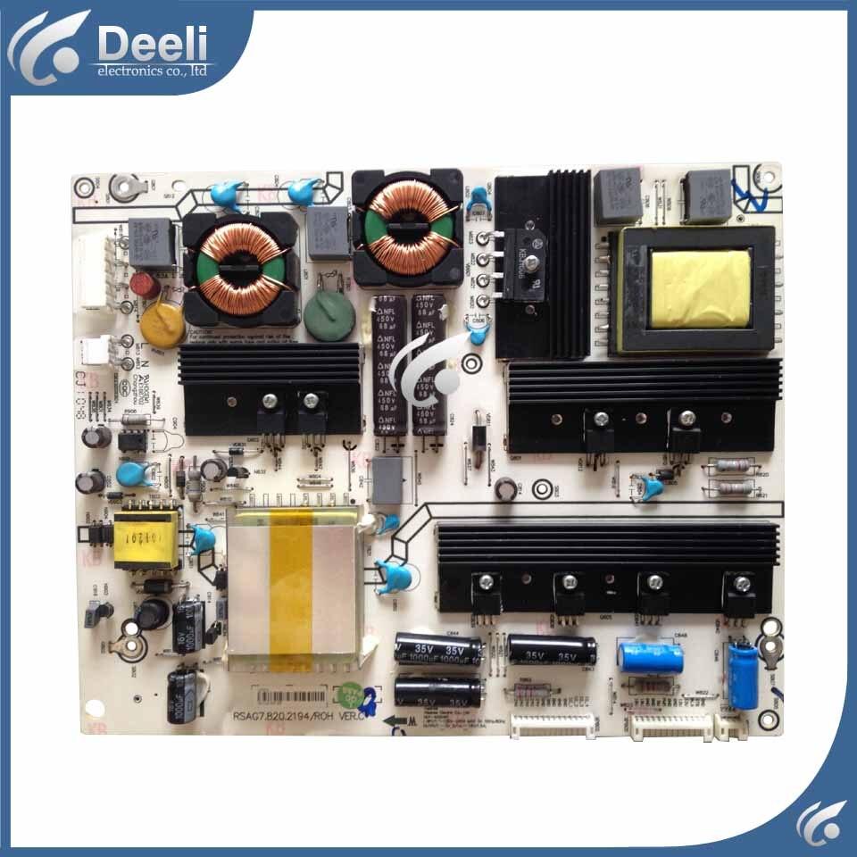 good Working used Power Supply Board LED55XT39G3D RSAG7.820.2194 /ROH Board стоимость