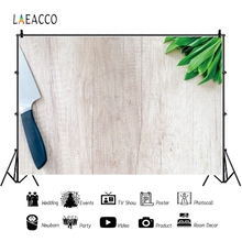 Laeacco Food Wooden Board Personalized Backdrops Communion Party Kitchen Decoration Photography Backgrounds For Photo Studio