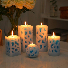 Romantic Scented Candles Decoration Birthday Candle Christmas Party Bougie Decoratif Small Holiday Supplies Art Innovative 60A09
