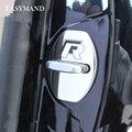 4 unids puerta hebilla de la cerradura de coche que labra la cubierta para audi todas las series sq5 q7 q5 q3 a1 A3 S3 A4 A4L A6L A7 S7 S6 A8 S4 RS4 A5 S5 RS5 8 T 8R