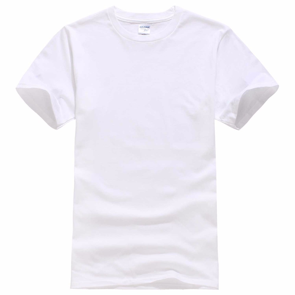Europe Size Solid color 100% Cotton T Shirt Mens Black White T-shirts 2018 Summer Skateboard Tee Boy Hip hop Skate Tshirt Tops