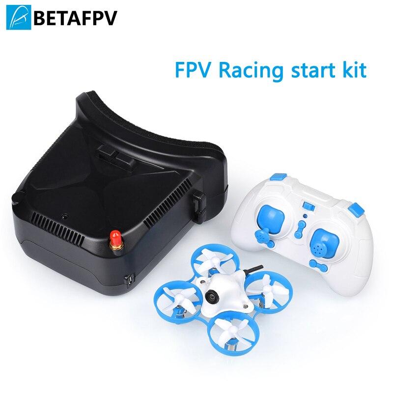 Beta 65 S LITE Drone FPV Kit de démarrage de course en gros avec lunettes VR006 pour minuscule Whoop