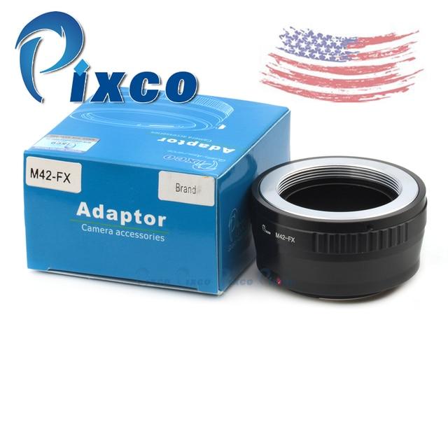 Pixco Lente M42-FX Anel Adaptador Suit Para M42 parafuso Da Lente Para fujifilm x-pro 1 filme fuji x-e1 fx x pro 1 câmera