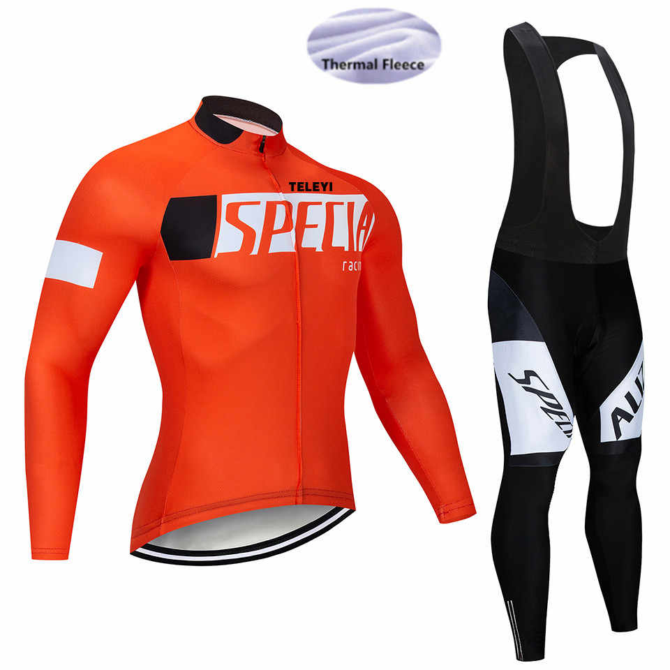 2018 SPEDING Winter Thermal Fleece Cycling Clothing Pro Bike Clothes  Bicycle Jersey   Maillot Ropa Ciclismo e5a067068