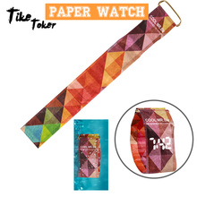 TIke Toker LED Waterproof Tyvek Paper Strap Digital Watches,Men Women Watch Germany Female Children's Sport watch 2018 Fashion 8
