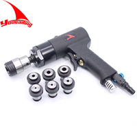 YOUSAILING Pistol Type ISO M3 M12 Chucks Pneumatic Tapping Machines Pneumatic Drill Tapper Air Tapping Tool