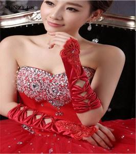 bridal gloves 7