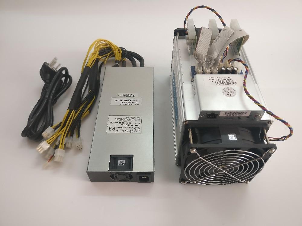 Used The Asic Bitcoin BTC Miner WhatsMiner M3 10.5t-11.5t 0.18 kw/TH Better Than Antminer V9 S7 D3 L3+,Economy Miner 4