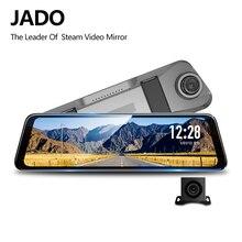 JADO D820 Автомобильный видеорегистратор поток зеркало заднего вида видеорегистратор Эра avtoregistrator 10 ips Сенсорный экран Full HD 1080p автомобиля Регистраторы видеорегистратор