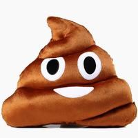 Soft Funny Emoji Poo Face Pillow Cushion Pillow Stuffed Toy Gifts Xmas Christmas Present