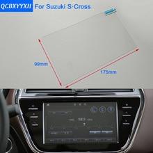 Стайлинга автомобилей 8 6.5 дюймов GPS навигации Экран Сталь защитный Плёнки для SUZUKI S-Cross Управление из ЖК-дисплей Экран автомобиль Стикеры