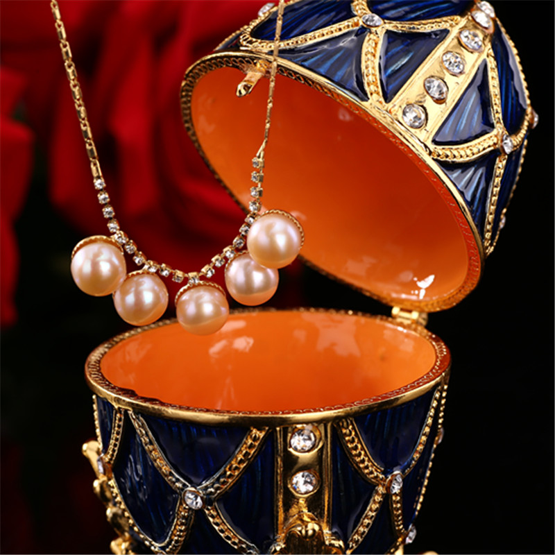 QIFU Faberge yumurta sənəti kolleksiya üçün - Ev dekoru - Fotoqrafiya 5