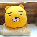 1pc Korea kakao friends  lion plush pillow blanket  Ryan doll  friend girl boy gifts christmas presents free shipping