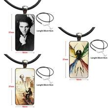 For Men Women It's Okay Lyrics My Chemical Romance Glass Pendant Galaxy Pendant Necklace Women Steel Plated Necklaces Jewelry(China)