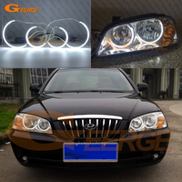 For Hyundai Elantra 2004 2005 2006 Excellent C Shape Style Ultra Bright Illumination CCFL Angel Eyes