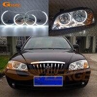 For Hyundai Elantra 2004 2005 2006 Excellent C Shape Style Ultra bright illumination CCFL Angel Eyes kit halo rings