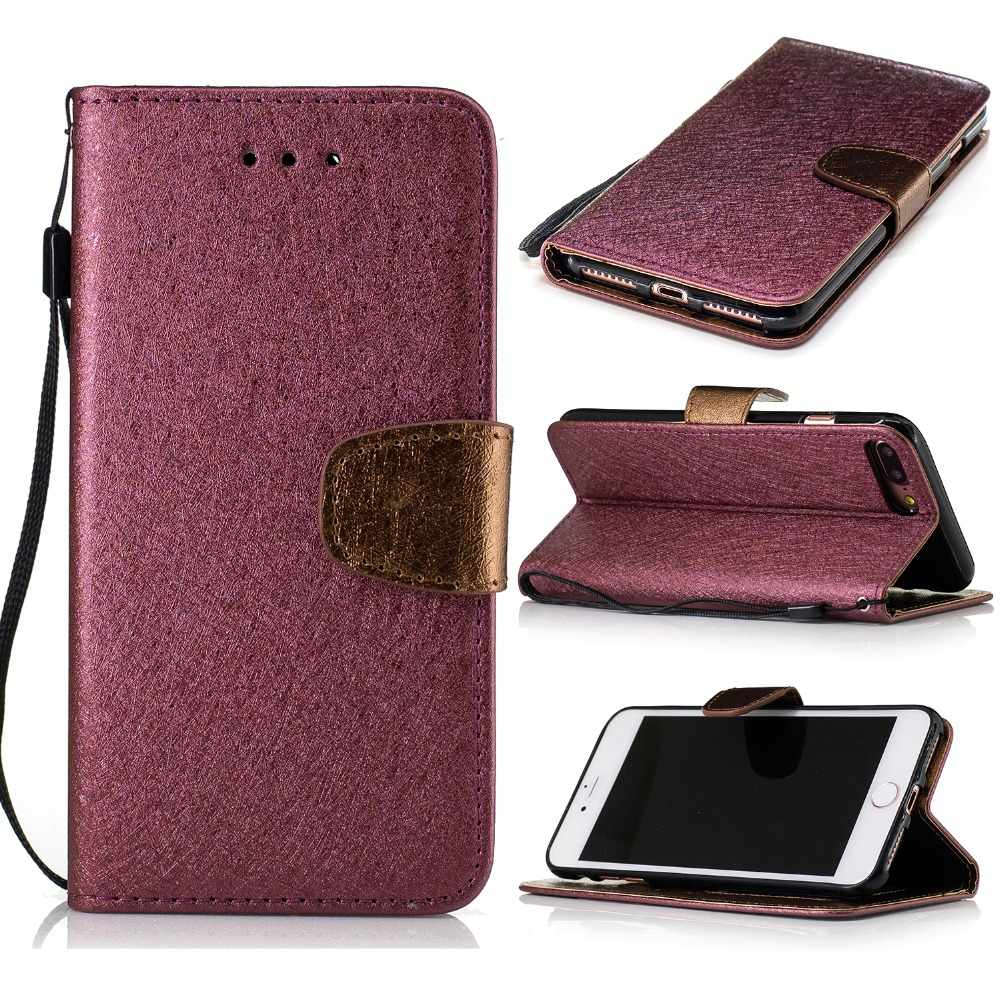 Wallet Leather Case For iPhone 7 6 6S 5G 5S SE 7 Plus 6S Plus magnetic holster flip Leather Fundas With Card Slot Brand Luxury