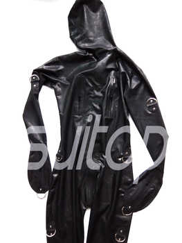 Suitop rubber latex catsuit full cover bodysuit for men - DISCOUNT ITEM  5% OFF All Category