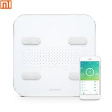 Xiaomi Yunmai Color2 Intelligent Bluetooth Body Fat Scale Smart App Fat Scale Led Display Usb Load Android And Ios Support tanie tanio Wagi do użytku domowego Testowanie zawartości tłuszczu i wody w organizmie Cyfrowy Szkło hartowane Stałe 150KG xiaomi yunmai Color2 M1302