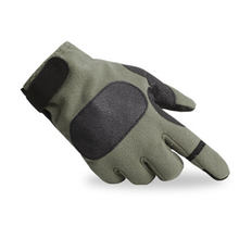 FuLang Cycling font b Gloves b font Fast drying colloidal particles full Finger for winter thicken