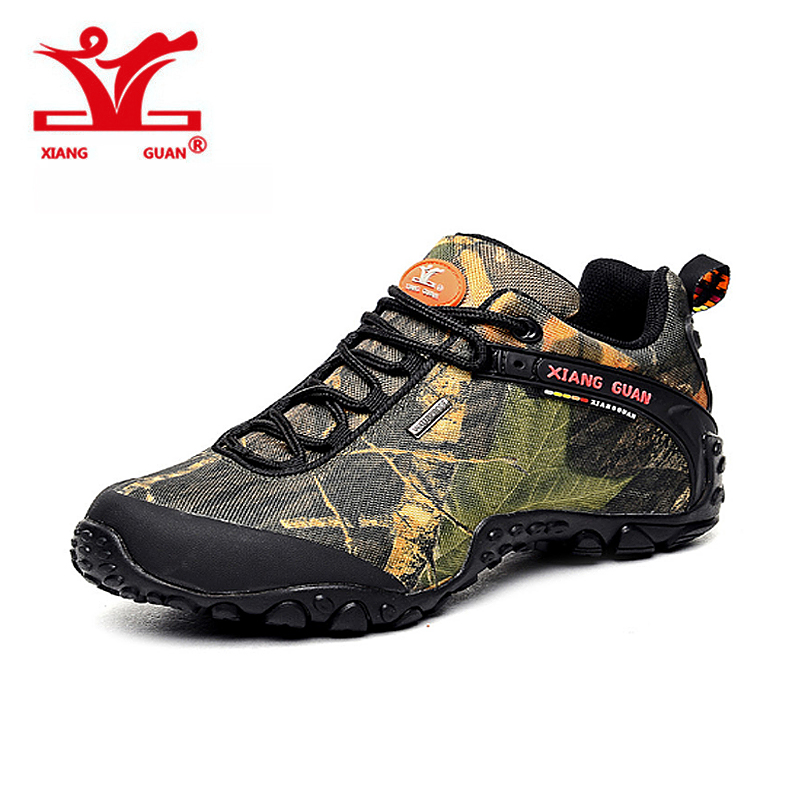 Buy xiangguan waterproof canvas hiking for Waterproof fishing shoes