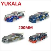 YUKALA rc car parts PVC painted shell bo