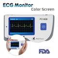 Household Health Monitors Heal Force PC-80B ECG Monitor Measuring Heart Cardiac Detector LCD Electrocardiogram Heart Monitor