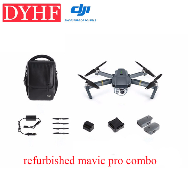 In Stock Refurbished Original Dji Mavic Pro Combo Drone With 4k Video 1080p Camera Rc Helicopter Drone With 4k Camera Drone With Camera 4k4k Drone Aliexpress