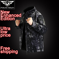 Brand Commander Jacket Men Softshell Windproof Women Waterproof Trekking Outdoors Fleece Jacket Camouflage Rain Coat Outdoor