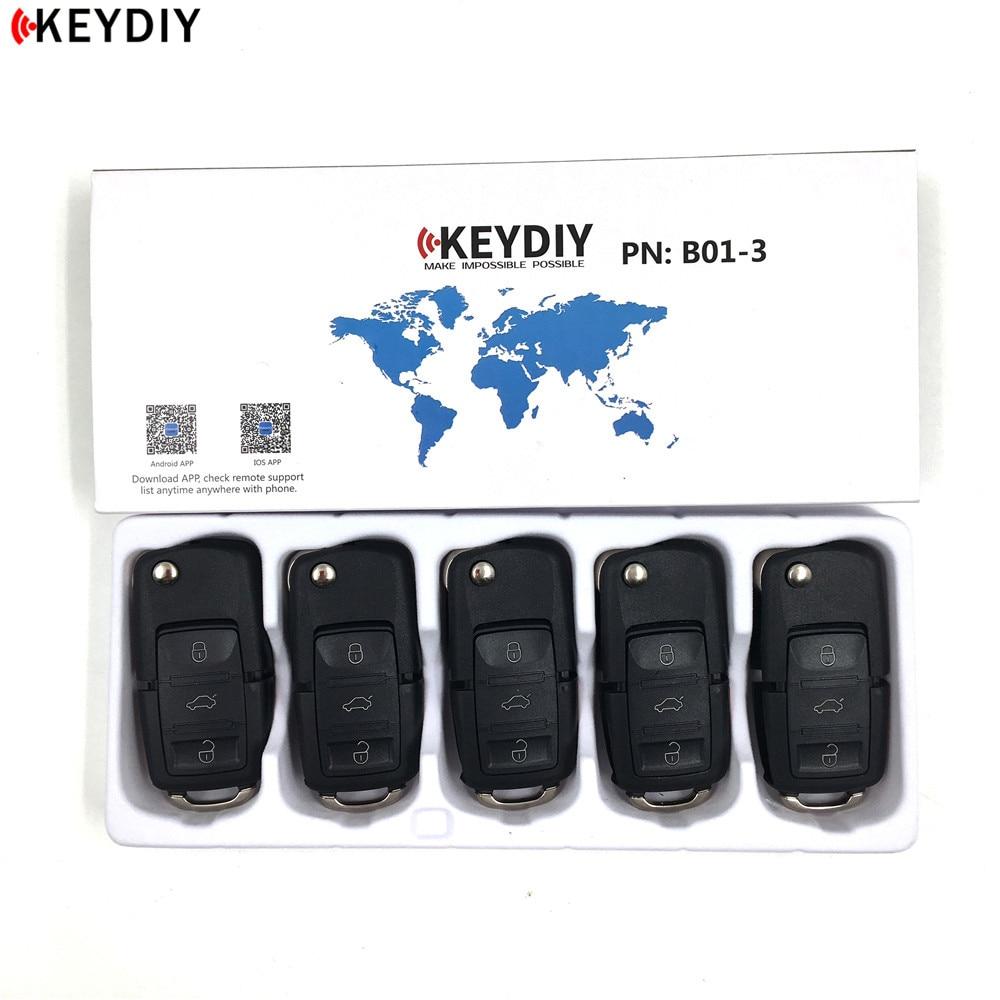 KEYDIY 5pcs Best Quality KD900 B Series Remote Control KD B01 3 3 Buttons Car Key