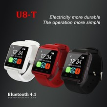 New Bluetooth 4.1 U8-T Smart Bluetooth Watch Phone with 1.54″ Capacitive Touch HD Display Pedometer Sleep Management, etc