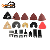 37pcs Multimaster Tool Accessories Saw Blade Kit For Tch Bosch Oscillating Tools For Nail Steel Tile