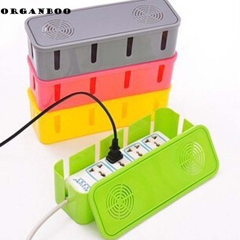 plastic storage box cooling holes power cord socket storage box safety socket outlet board. Black Bedroom Furniture Sets. Home Design Ideas