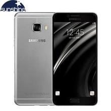 """Оригинальный разблокирована Samsung Galaxy C5 C5000 4 г LTE мобильный телефон Octa core 5.2 """"16.0MP dual sim 4 ГБ Оперативная память смартфон NFC"""